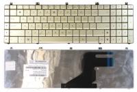 Клавиатура для ноутбука Asus N55 N55S N75 N75S серебристая