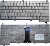 Клавиатура для ноутбука Dell XPS M1210  серебристая